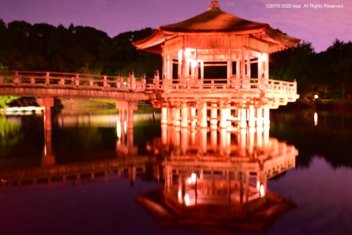 興福寺周辺、鏡面仕上げ